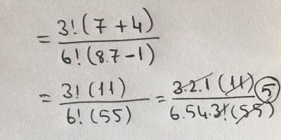 Matematik – Faktöriyel