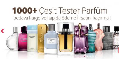 Türkiye'nin En Uygun Fiyatlı Tester Parfüm Satış Mağazası