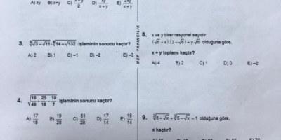 Acil yardım matematik