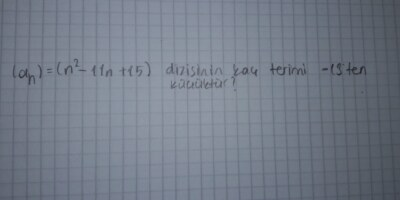 Matematik diziler