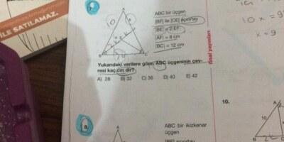 Geometri açıortay