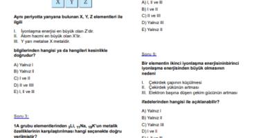 9.sınıf kimya acil kısa cevaplı cevapları lazım