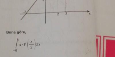 İntegral -12 cevap