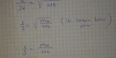 Matematik soru