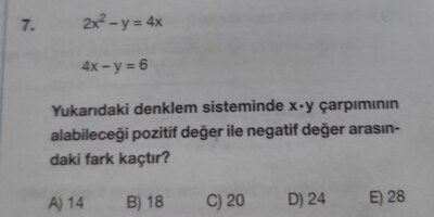 Matematik denklemler