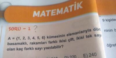 Matematik kombinasyon