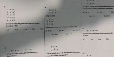 Matematik test