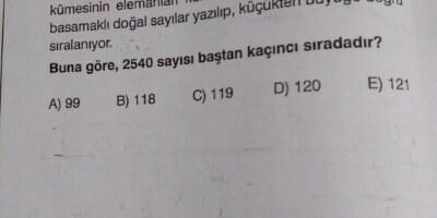 10.sınıf matematik sayma ve olasılık